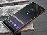 Spitzentechnik im Edel-Kleid: Samsung Galaxy Note 8 ist mächtig
