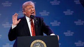 """Streit um Mauer zu Mexiko: Trump will notfalls """"US-Regierung schließen"""""""