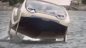 """Wassertaxi mit grünem Antrieb: """"Seabubbles"""" schweben über die Seine"""