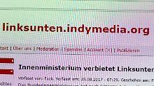 """Waffen bei Betreibern gefunden: De Maizière verbietet """"linksunten.indymedia"""""""