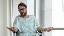 Glück im Unglück beim Wandern: Mann überlebt Blitzschlag