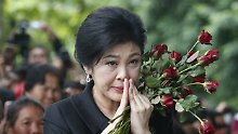 Nach Informationen des US-Senders CNN hat Yingluck sich am Mittwoch abgesetzt.