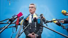 """Kampf gegen den Terror: De Maizière hält Türkei für """"unverzichtbar"""""""