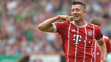 Der FC Bayern hat seinen Robert Lewandowski, …