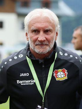 Immer für einen Ausraster gut: Rudi Völler.