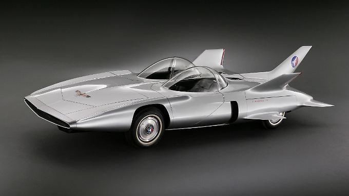 Der Firebird III von General Motors war in den 50er Jahren seiner Zeit weit voraus.