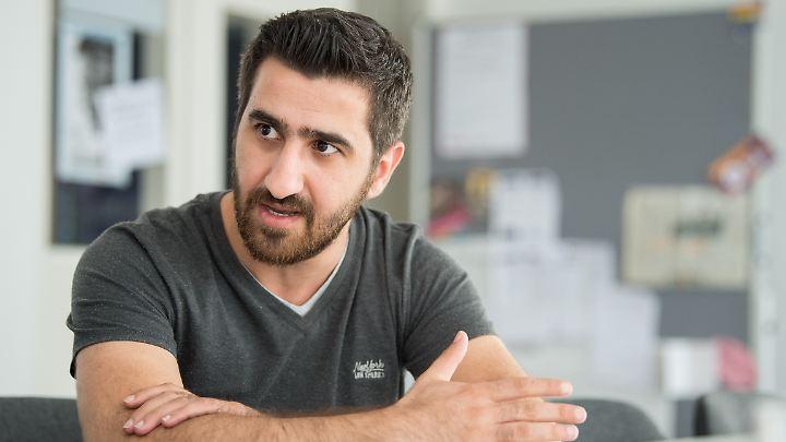 Husan Kalil kam 2013 von Syrien nach Deutschland.