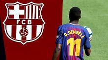 Neulich in Barcelona: Ousmane Dembélé.