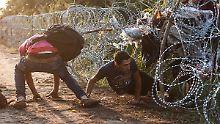 Entgegen der Dublin-Verordnung: Flüchtlinge müssen nicht mehr nach Ungarn