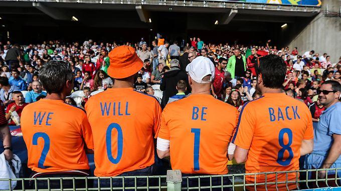 Vor WM-Quali gegen Les Bleus - Oranje zwischen Hoffen und Bangen.