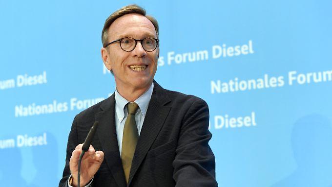 In der Dieselaffäre gab es zwischen Wissmann und den Autobossen Unstimmigkeiten.