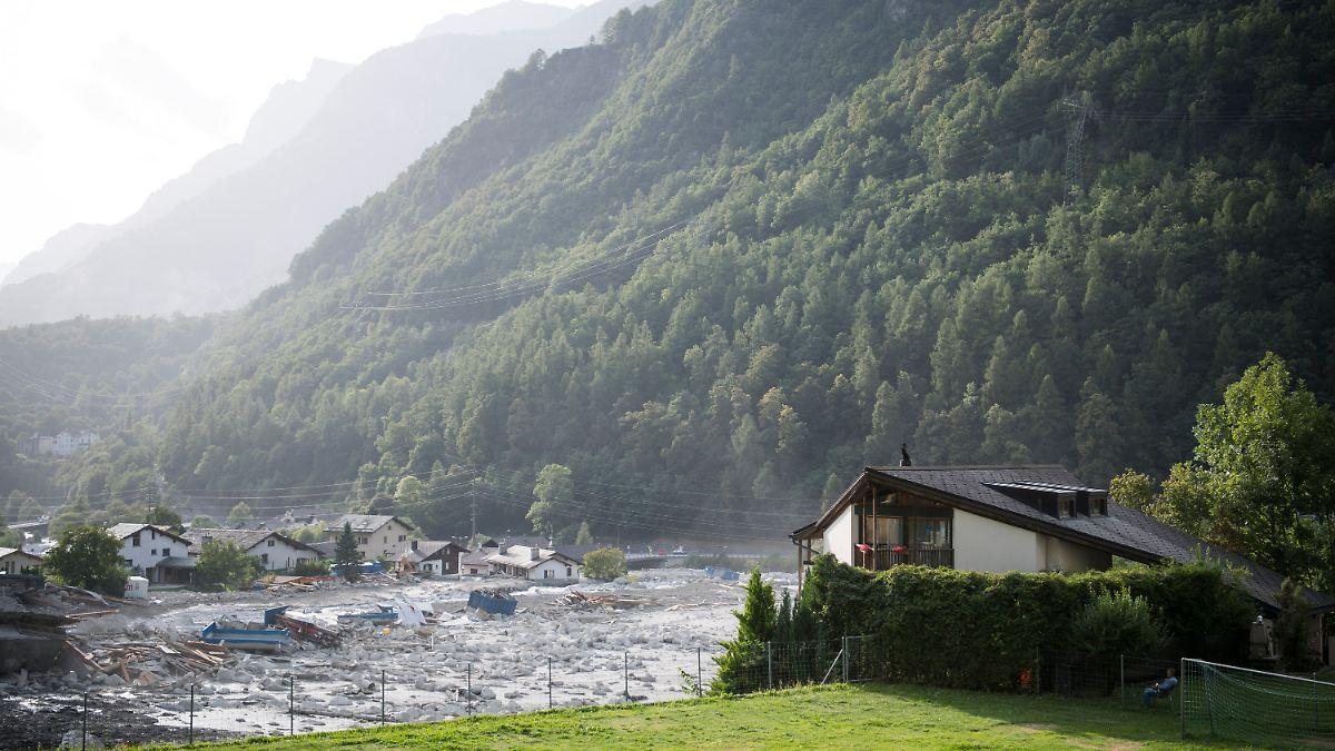 Graubünden erneut von Bergsturz betroffen
