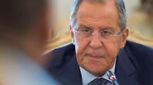 """Streit um geschlossene Konsulate: Lawrow droht den USA mit """"harter Reaktion"""""""
