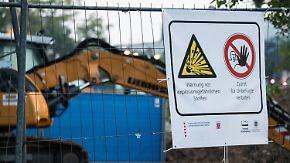 Entschärfung von Weltkriegsbombe: In Frankfurt läuft aufwendige Massenevakuierung