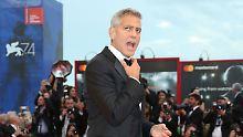 Ja, Amal ist auch mit in Venedig: Clooney stellt wütenden Rassismus-Film vor