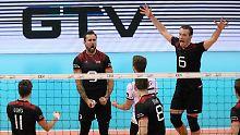 Herzschlag-Finale: Volleyballer bejubeln EM-Silber