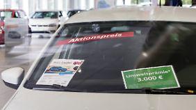 Käufer sparen bis zu 46 Prozent: Dieselprämie treibt Neuwagen-Rabatte in Rekordhöhen