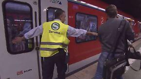 Türsteher für mehr Pünktlichkeit: Lotsen regeln Einstieg in Frankfurter S-Bahnen