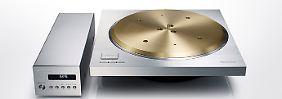 Neues Klangwunder von Technics: Auf der IFA drehen sich viele Plattenspieler