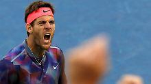 Der Kerl, der nie aufgibt: Epischer del Potro wird zum Tennishelden