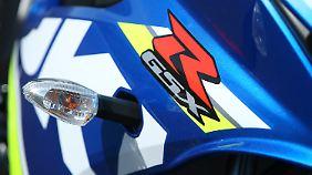 Die Hoheitszeichen der großen Schwester prägen auch das Design der Suzuki GSX-R 125.