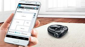 Der Bosch Roxxter ist ein smarter Saugroboter.