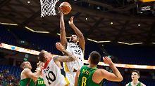 Der Sport-Tag: Litauen überfordert DBB-Team - Frankreich wartet