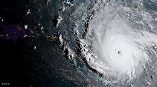 """Einer der stärksten jemals gemessenen tropischen Wirbelstürme: Hurrikan """"Irma""""."""