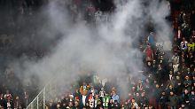"""""""Sieg-Heil""""-Rufe in Prag: Fifa ermittelt wegen deutscher Fan-Ausfälle"""