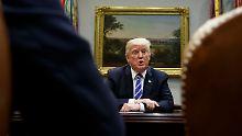 Militärschlag nicht erste Wahl: Trump erwartet Nordkorea-Idee von China