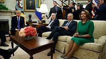 Regierungsstillstand vertagt: Demokraten helfen Trump im Etatstreit