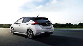 378 Kilometer soll der Akkumulator den neuen Nissan Leaf vorantreiben.