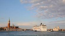 Wachstum versus Massentourismus: Kreuzfahrtbranche diskutiert über volle Häfen