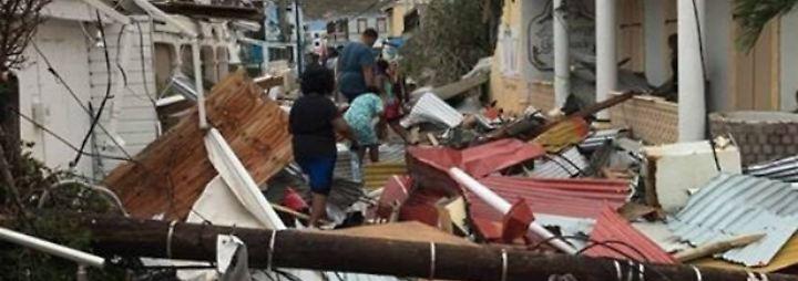 """""""Irma"""" verwüstet die Karibik: Der schlimmste Hurrikan aller Zeiten"""