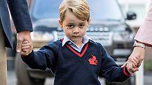 """""""Oh Mist, was geht hier ab?"""": Prinz George drückt jetzt die Schulbank"""