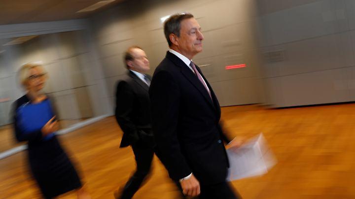 Dynamischer Draghi - nur durch das Auge des Fotografen.