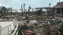 """Tui rät von Karibikreisen ab: """"Irma"""" zerstört Urlaubsparadiese"""