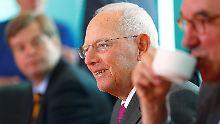 Mit 75 immer noch nicht amtsmüde: Wolfgang Schäuble.