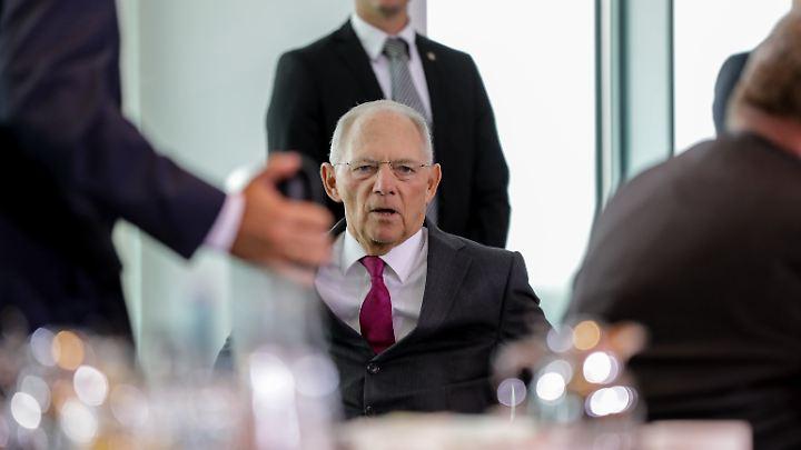 Bundesfinanzminister Wolfgang Schäuble: Einer für Alle?