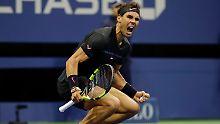 US-Open-Finale steht fest: Nadal beendet del Potros Höhenflug