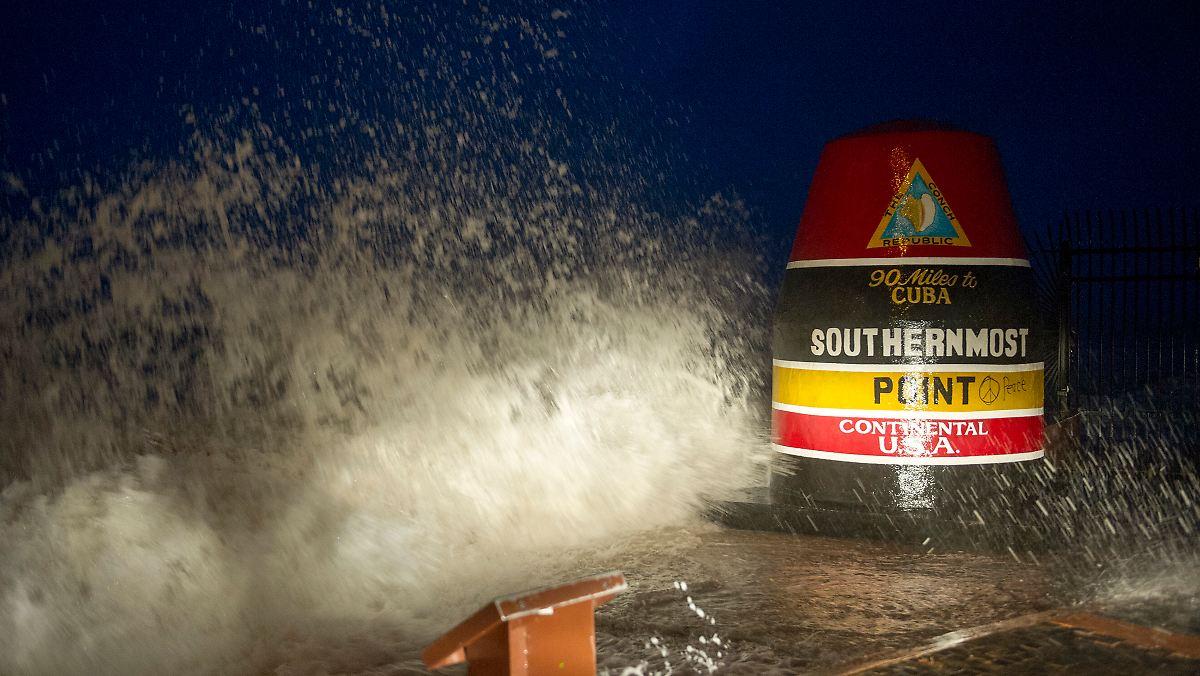 """""""Irma""""-Vorboten peitschen durch Florida Keys"""