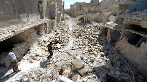 Alltag im Trümmerfeld: Ost-Aleppo erwacht zum Leben