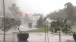 """Tornados, Stromausfälle, Wassermassen: """"Irma"""" wütet in Florida und zieht Küste hinauf"""