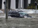 """Der Tag: """"Irma"""" sorgt für Überschwemmungen in Miami"""