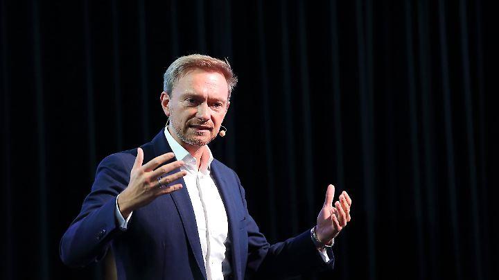FDP-Chef Christian Lindner sieht nicht die Partei nicht als rechtlich verantwortlich.