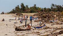 Im Hurrikan gestrandet: Reiseveranstalter fliegen Kuba-Touristen aus