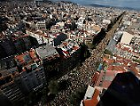 Demonstration in Barcelona: Hunderttausende fordern Unabhängigkeit