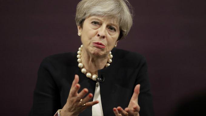 Premierministerin May konnte eine Niederlage im Unterhaus abwenden.