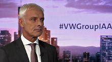 VW-Chef im n-tv Interview: Müller würde wieder Diesel kaufen