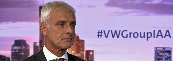 """VW-Chef Müller im Interview: """"Würde mir wieder einen Diesel kaufen"""""""